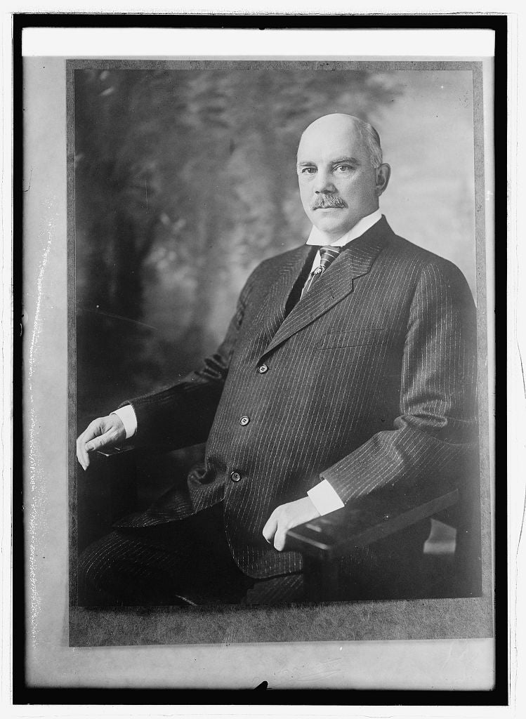 8 x 10 Reprinted Old Photo of Wm. G. Sharp, Ambassador to France 1914 National Photo Co  44a