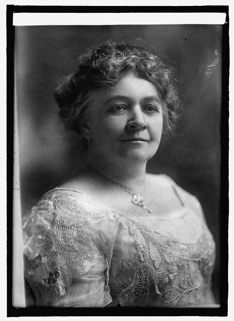 8 x 10 Reprinted Old Photo of Mrs. Wm. Stanley West, wife of Sen. from Ga. 1914 National Photo Co  64a