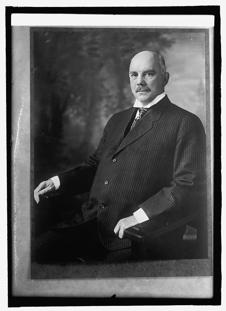 8 x 10 Reprinted Old Photo of Wm. G. Sharp, Ambassador to France 1914 National Photo Co  65a