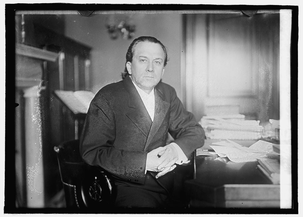 8 x 10 Reprinted Old Photo of Sen. James K. Vardaman of Miss. 1914 National Photo Co  77a