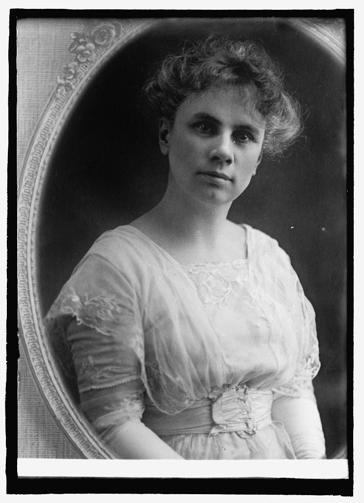 8 x 10 Reprinted Old Photo of Mrs. Frank West, Federal Children Bureau 1914 National Photo Co  81a