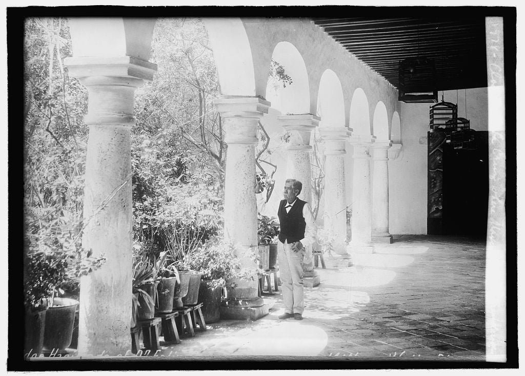 16 x 20 Reprinted Old Photo ofCloister of La Cruz where Maximillian surrendered 1914 National Photo Co  26a