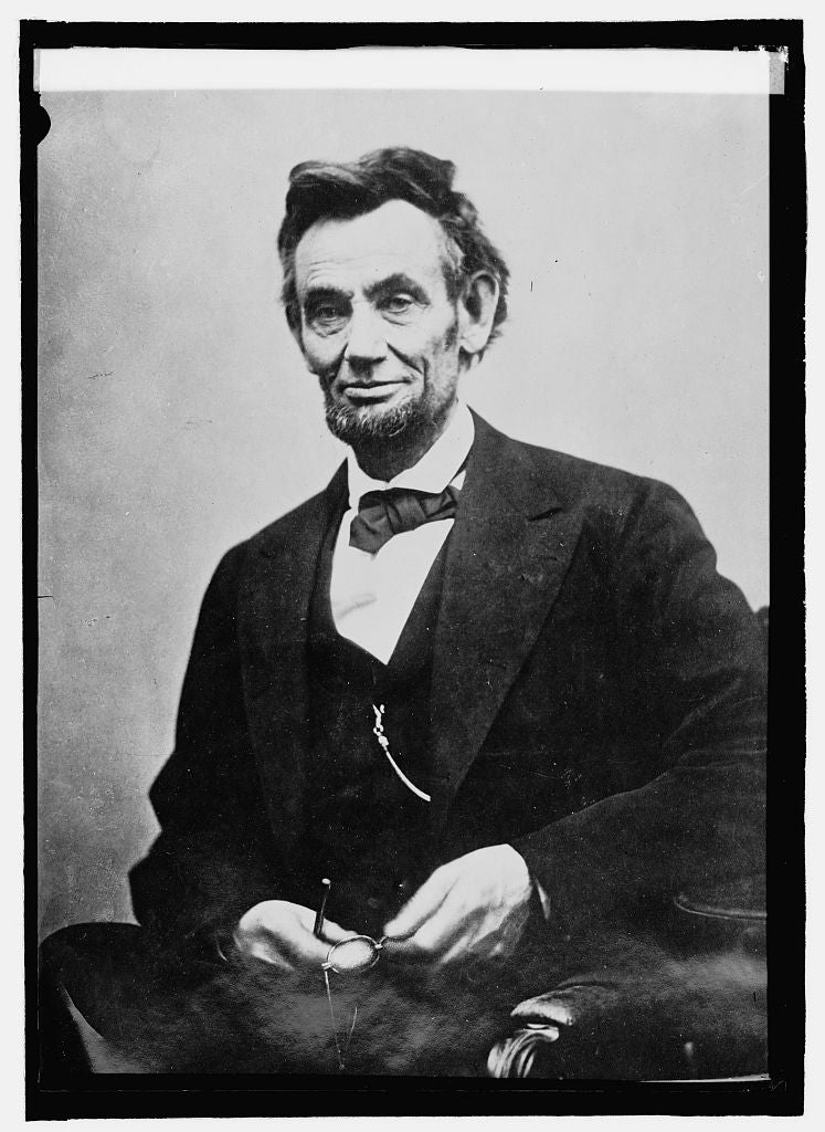 8 x 10 Reprinted Old Photo of Lincoln taken shortly before his death 1914 National Photo Co  53a