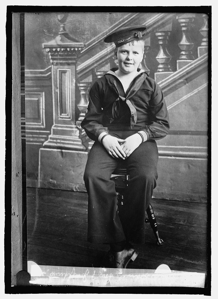 16 x 20 Reprinted Old Photo ofFrank Daniels, son of Josephus D. 1914 National Photo Co  00a