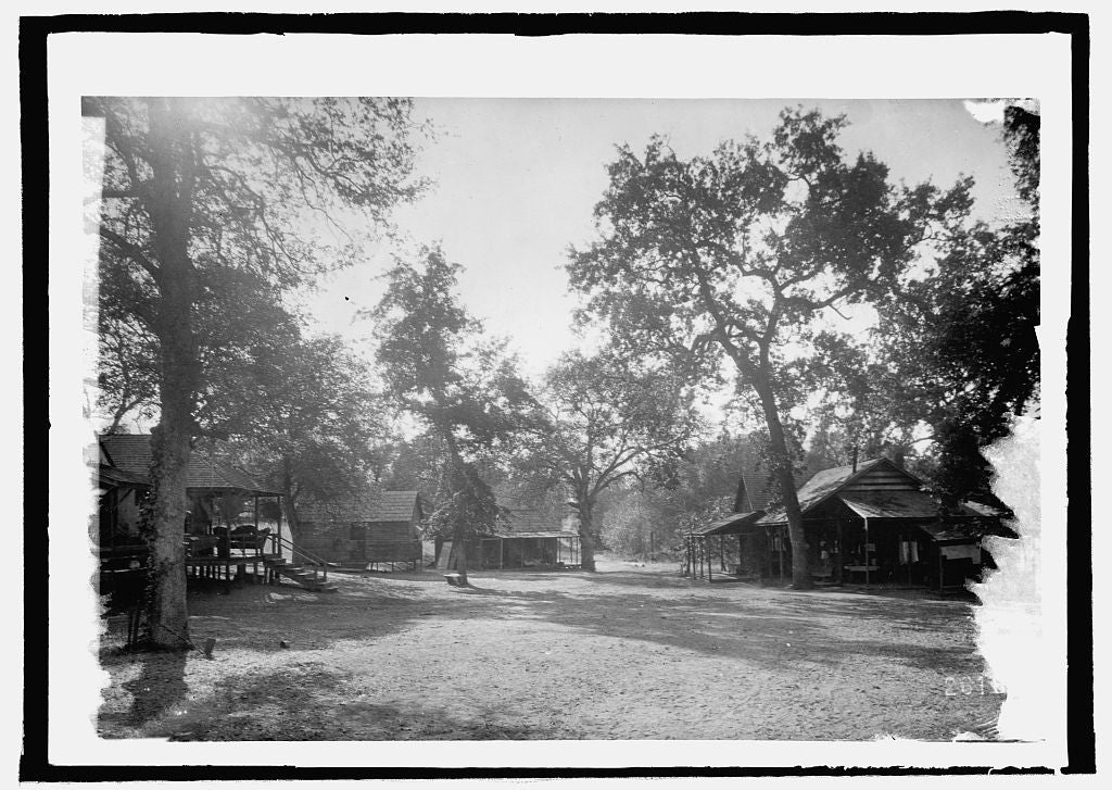 16 x 20 Reprinted Old Photo ofCabins of Redstone Park, Sequoia Nat. Forest, Tulane County, Cal. 1914 National Photo Co  20a