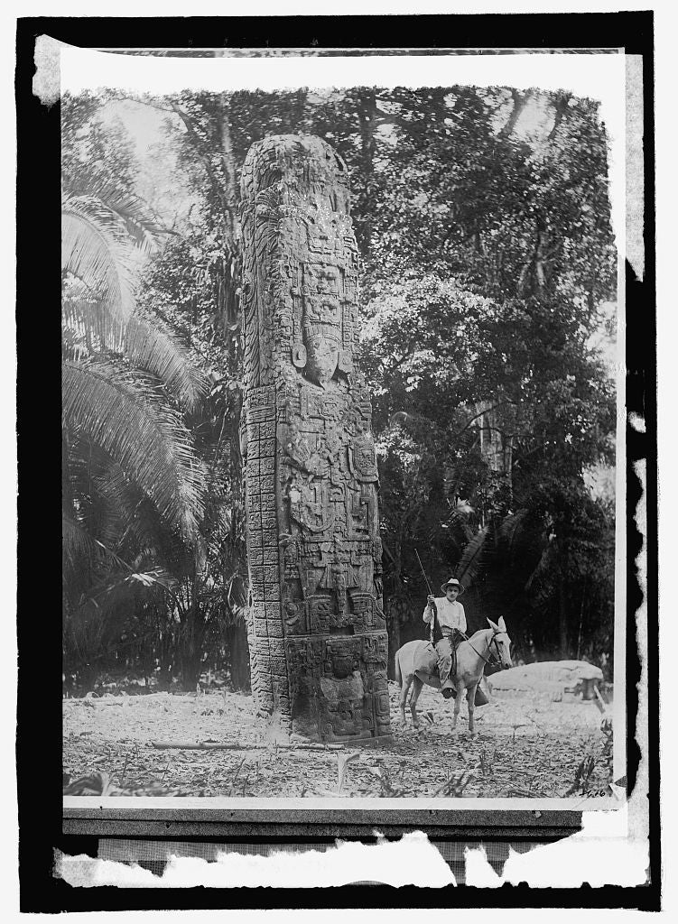 16 x 20 Reprinted Old Photo ofGuatemala. Quirigua 1914 National Photo Co  40a