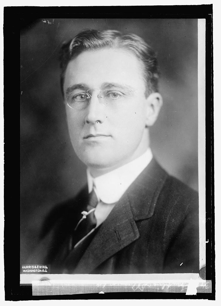 16 x 20 Reprinted Old Photo ofFranklin D. Roosevelt 1915 National Photo Co  25a