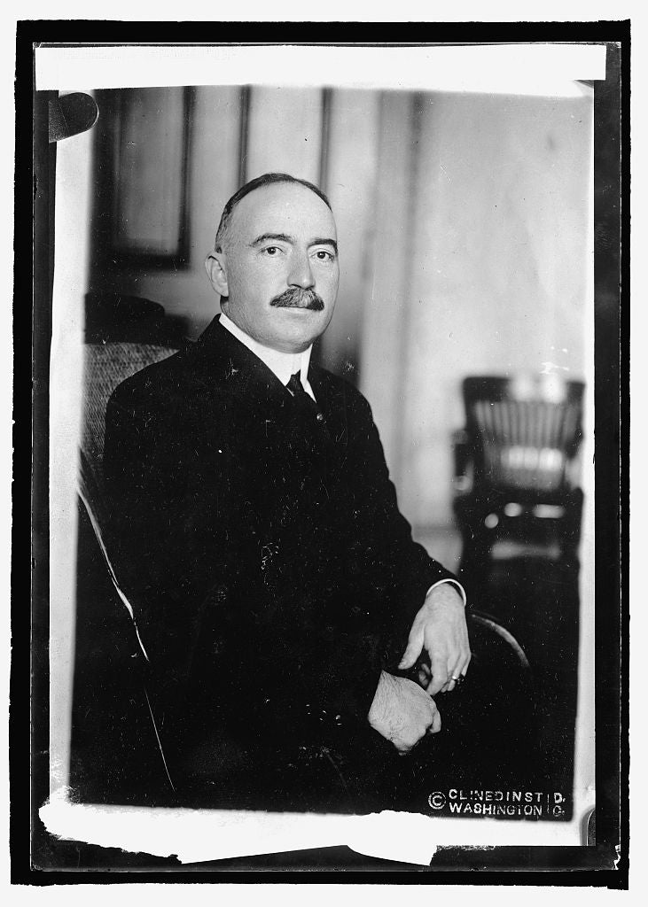 16 x 20 Reprinted Old Photo ofRear Adm'l Strauss 1915 National Photo Co  27a