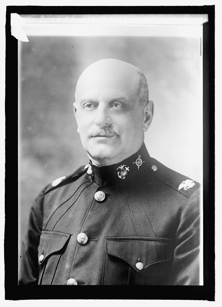 16 x 20 Reprinted Old Photo ofCapt. Chas. H. Laucheimer 1915 National Photo Co  05a