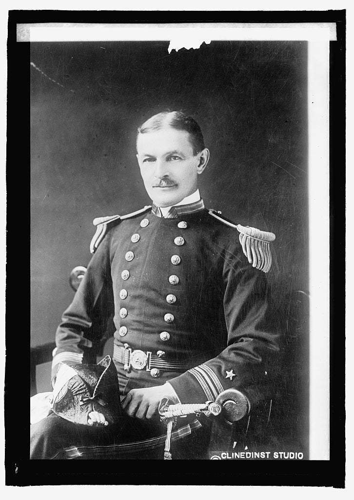 16 x 20 Reprinted Old Photo ofLt. Com'dr S.S. Wood 1915 National Photo Co  07a