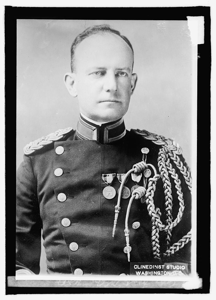 16 x 20 Reprinted Old Photo ofCapt. Frank McCoy, U.S.A. 1915 National Photo Co  50a