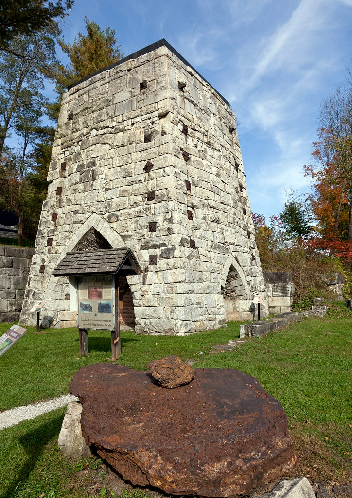 18 x 24 Photograph reprinted on fine art canvas  of Beckley Furnace Canaan Connecticut r90 2011 October by Highsmith, Carol M.,