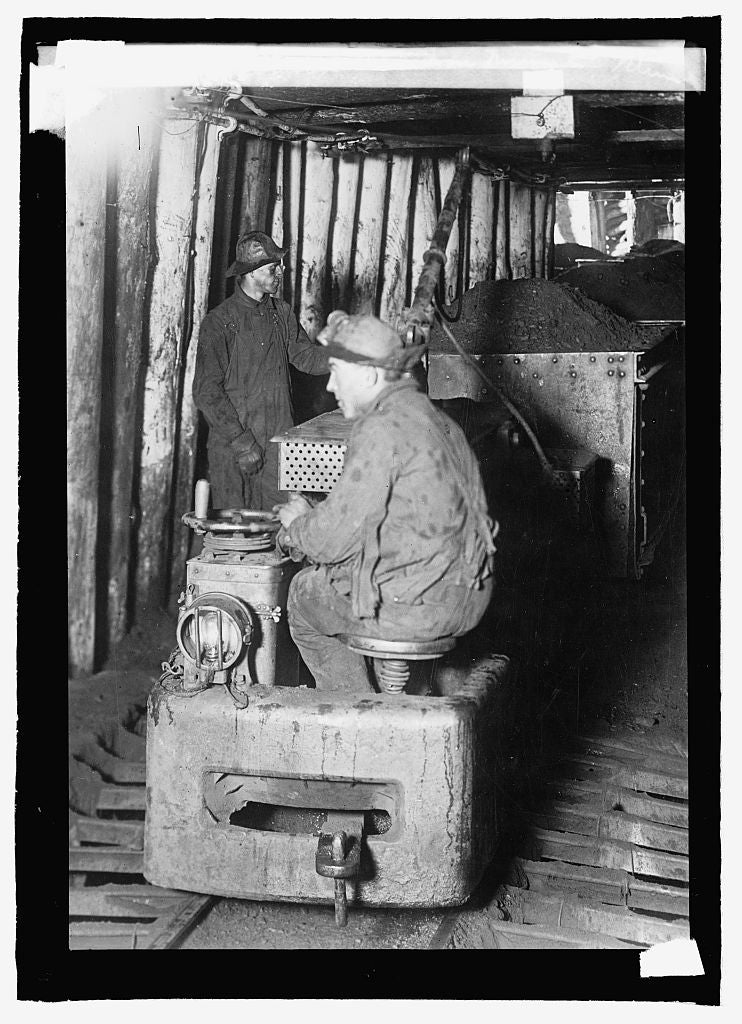 16 x 20 Reprinted Old Photo ofElec. Locomotive, Oliver Iron Mining Co., Minn. 1915 National Photo Co  57a