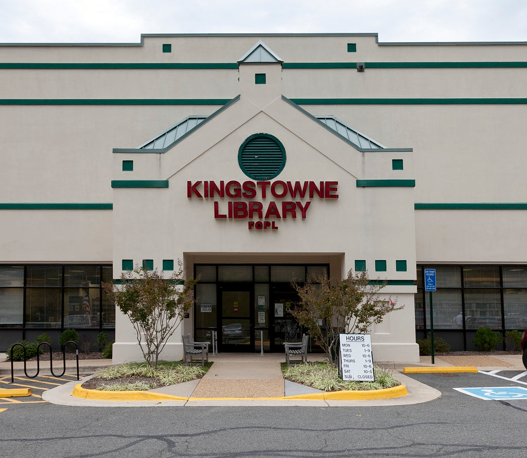 18 x 24 Photograph reprinted on fine art canvas  of Kingstowne Library Alexandria Virginia r91 2011 September by Highsmith, Carol M.,