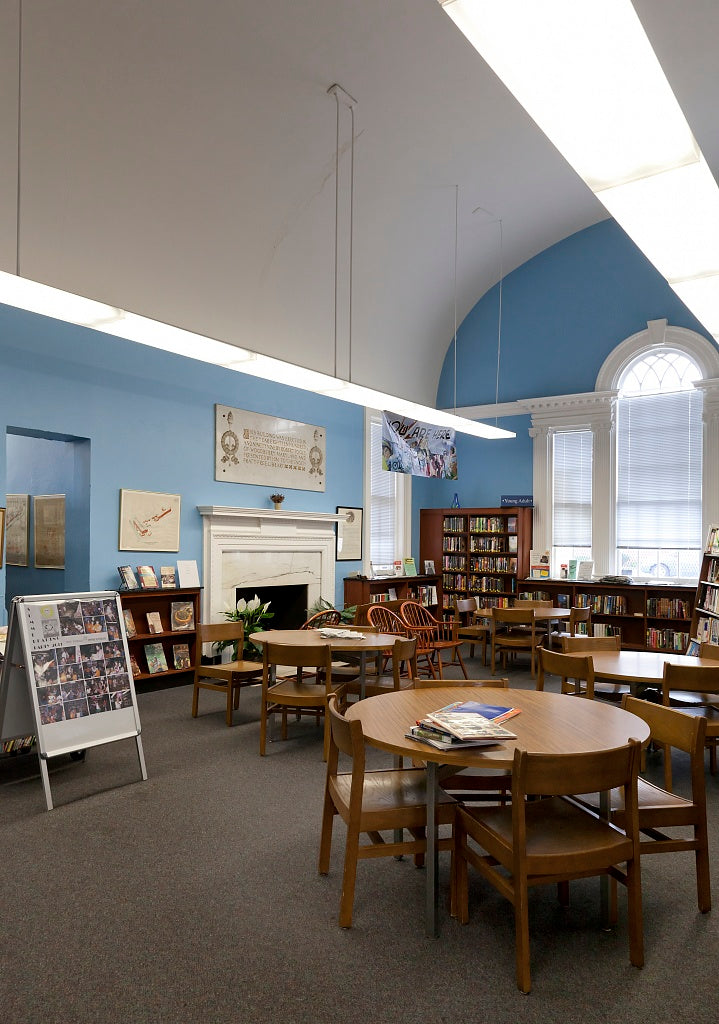 18 x 24 Photograph reprinted on fine art canvas  of Hampden Branch Library Baltimore Maryland r27 2011 October by Highsmith, Carol M.,