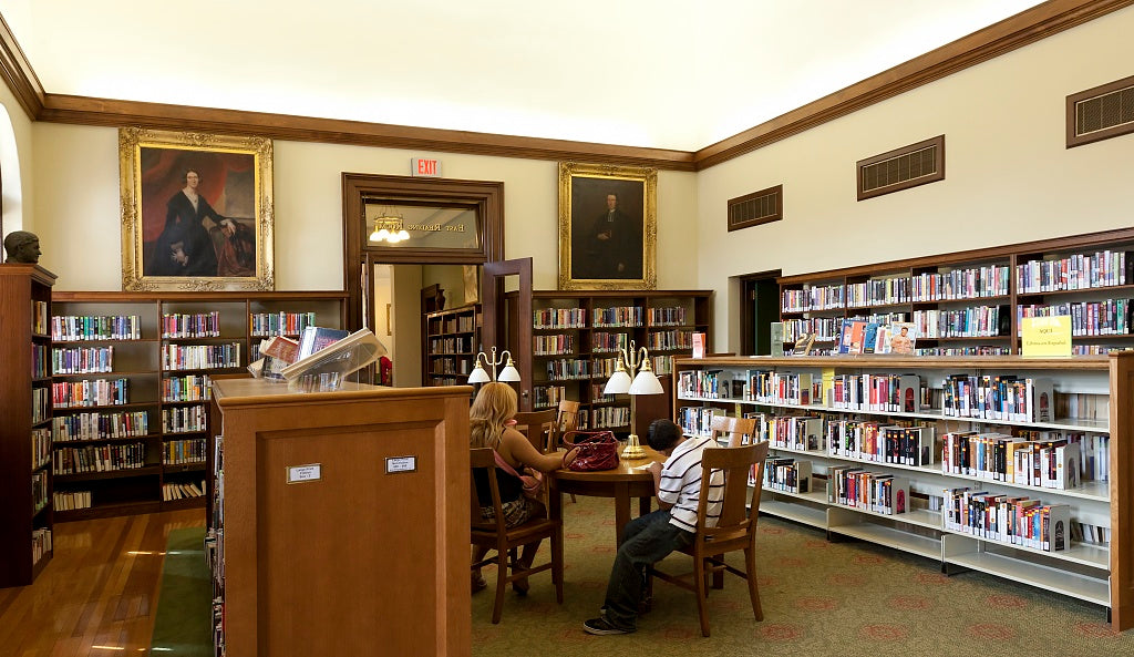 18 x 24 Photograph reprinted on fine art canvas  of Handley Library Winchester Virginia r55 2011 September by Highsmith, Carol M.,