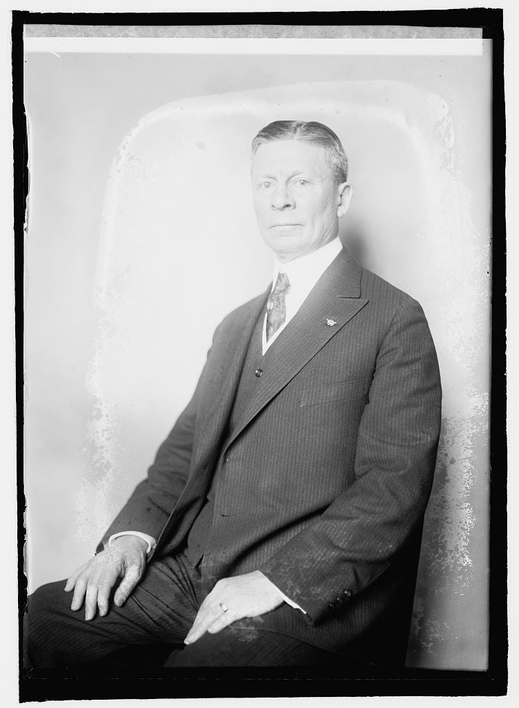 8 x 10 Reprinted Old Photo of Lindley H. Hadley of Wash. 1920 National Photo Co  68a
