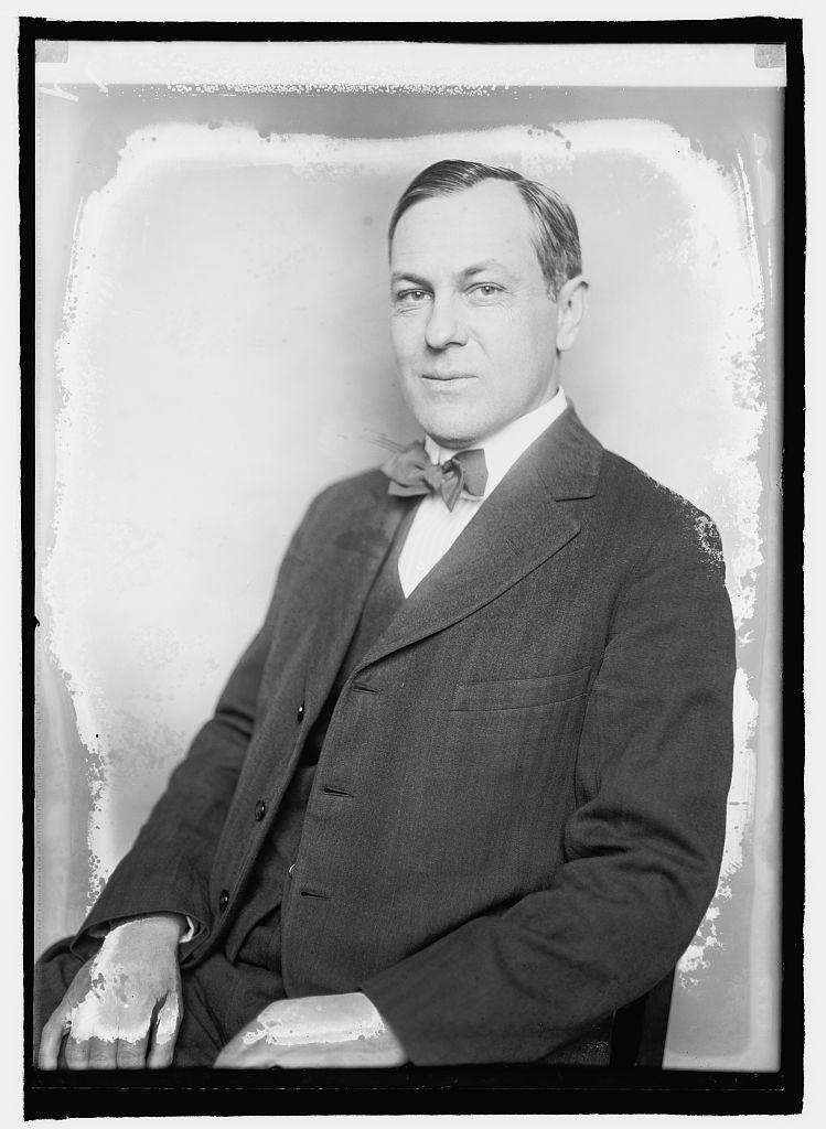 8 x 10 Reprinted Old Photo of Fritz G. Lanham, Texas 1920 National Photo Co  98a