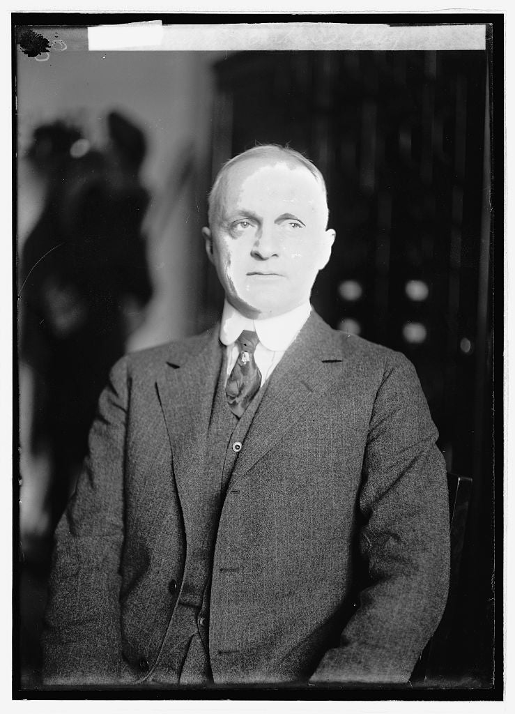8 x 10 Reprinted Old Photo of Henry E. Barbour, Calif. 1922 National Photo Co  71a