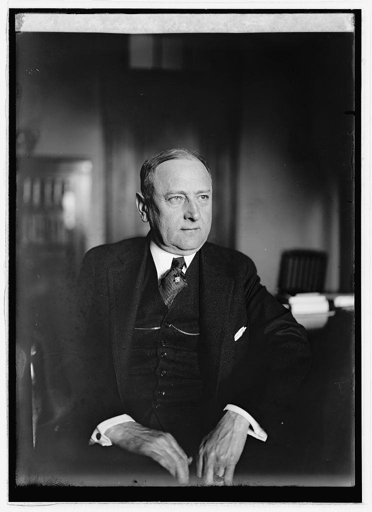 8 x 10 Reprinted Old Photo of Harry M. Daugherty 1922 National Photo Co  51a