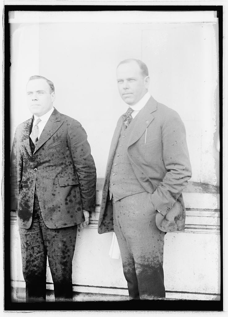 16 x 20 Reprinted Old Photo of Joe O'Tool & Sen. Gay 1921 National Photo Co  69a