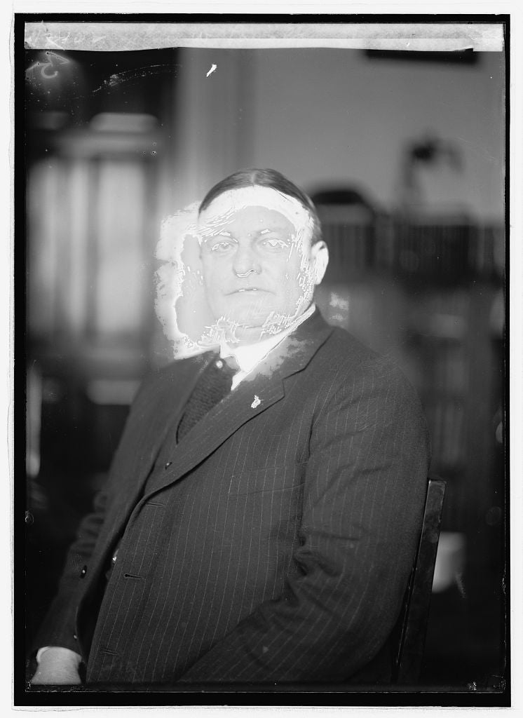 8 x 10 Reprinted Old Photo of  John W. Langley 1922 National Photo Co  93a