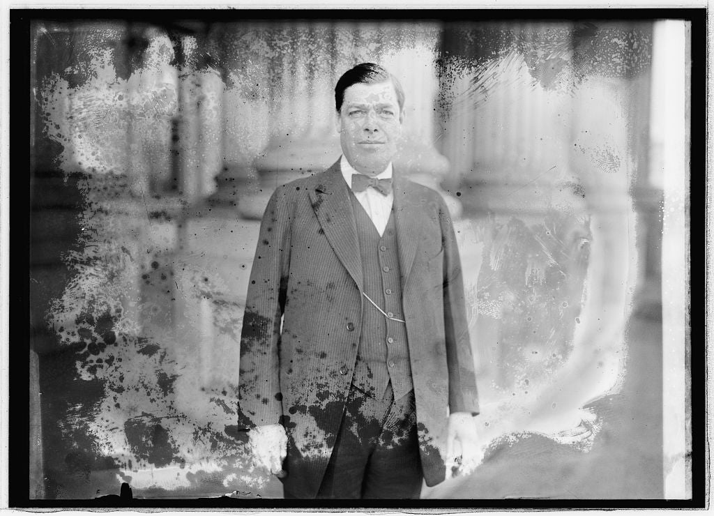 8 x 10 Reprinted Old Photo of  Charles B. Ward 1921 National Photo Co  20a