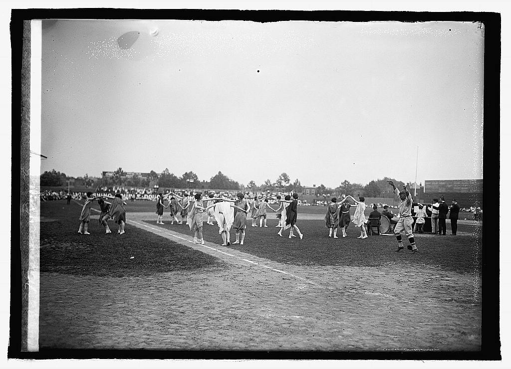16 x 20 Reprinted Old Photo of Masonic ball game, 1921 1921 National Photo Co  31a