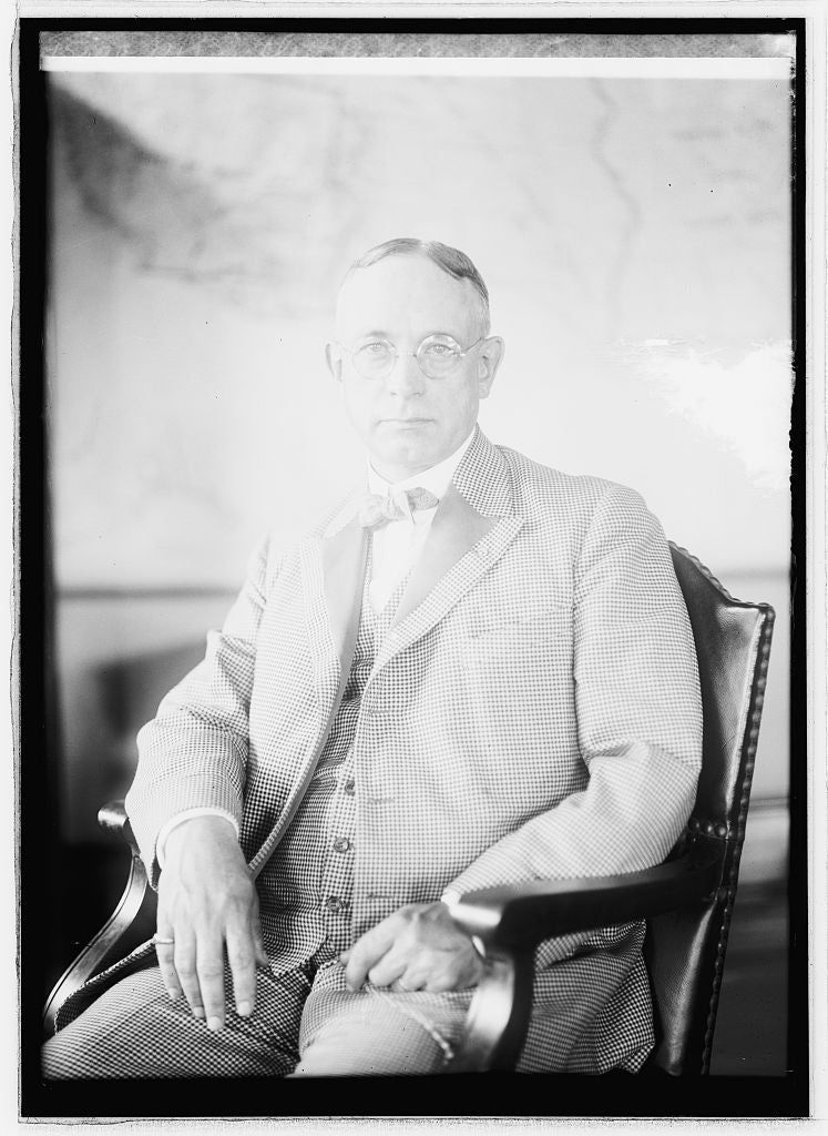 16 x 20 Reprinted Old Photo of J.H. Barlett, Civil Service Com., 7/15/21 1921 National Photo Co  11a
