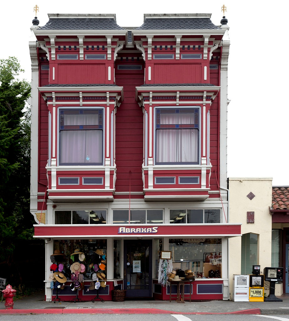 18 x 24 Photograph reprinted on fine art canvas  of Abraxas store in Victorian building in Ferndale a city in Humboldt County California r05 2012 by Highsmith, Carol M.