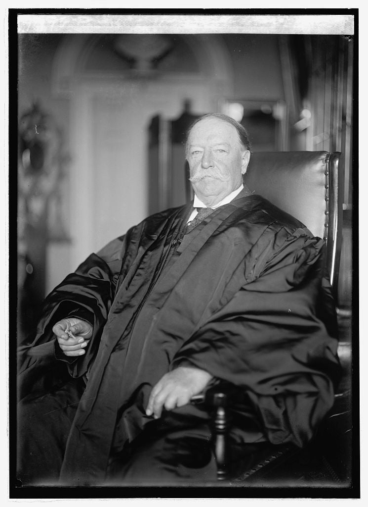 16 x 20 Reprinted Old Photo of Wm. Howard Taft, 10/5/21 1921 National Photo Co  34a