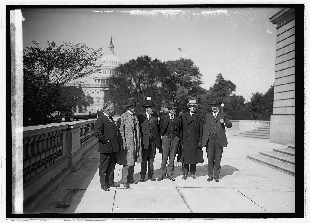 16 x 20 Reprinted Old Photo of Pou. (5th from left) Rules Committee, 10/19/21 1921 National Photo Co  54a