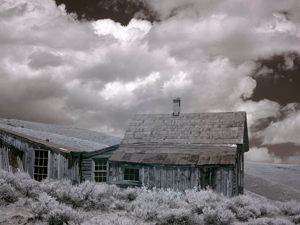 18 x 24 Photograph reprinted on fine art canvas  of Bodie is a ghost town in the Bodie Hills east of the Sierra Nevada mountain range in Mono County California r96 2012 by Highsmith, Carol M.