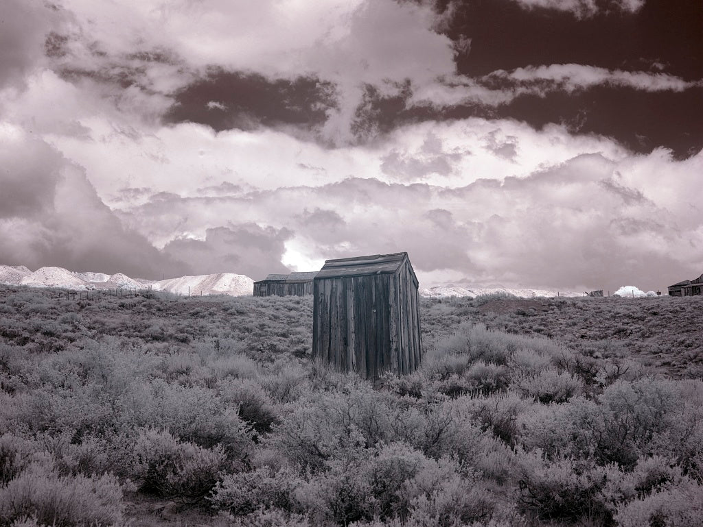 18 x 24 Photograph reprinted on fine art canvas  of Bodie is a ghost town in the Bodie Hills east of the Sierra Nevada mountain range in Mono County California r04 2012 by Highsmith, Carol M.