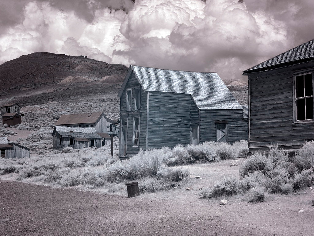 18 x 24 Photograph reprinted on fine art canvas  of Bodie is a ghost town in the Bodie Hills east of the Sierra Nevada mountain range in Mono County California r09 2012 by Highsmith, Carol M.