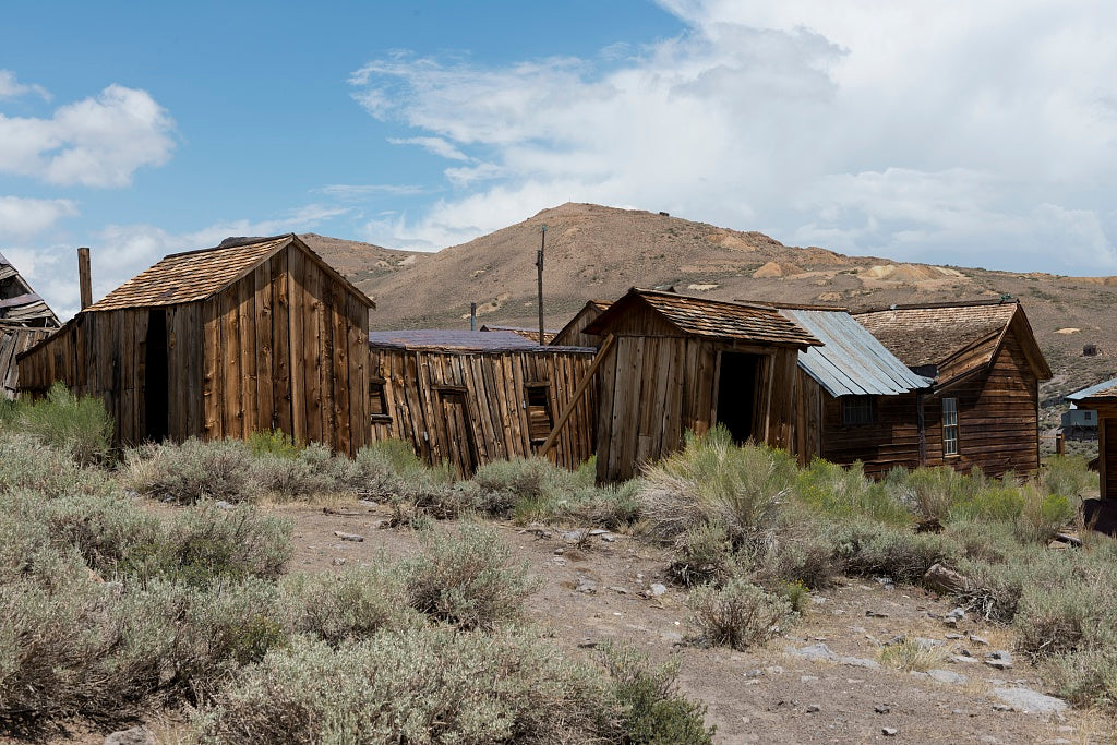 18 x 24 Photograph reprinted on fine art canvas  of Bodie is a ghost town in the Bodie Hills east of the Sierra Nevada mountain range in Mono County California r87 2012 by Highsmith, Carol M.