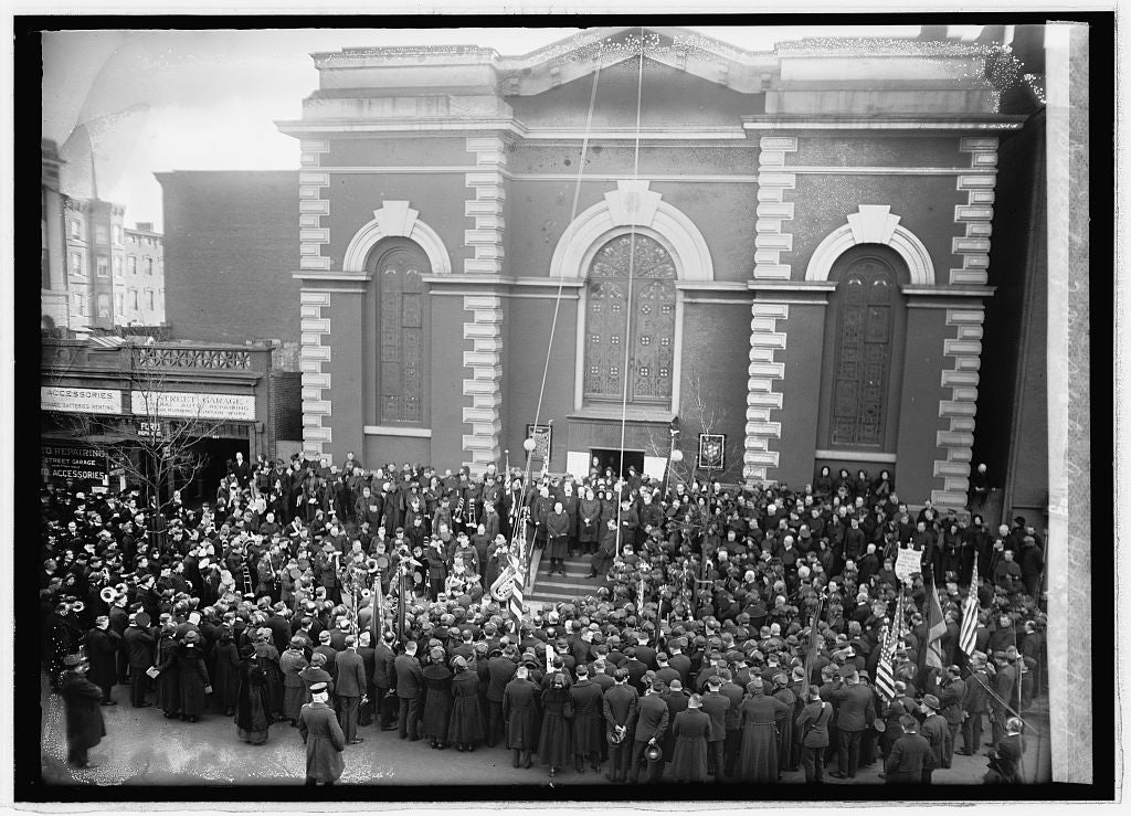16 x 20 Reprinted Old Photo ofDedication of new Salvation Army hgqtrs., 12/3/21 1921 National Photo Co  27a
