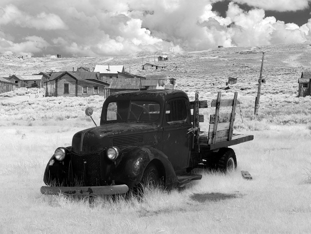 18 x 24 Photograph reprinted on fine art canvas  of Bodie is a ghost town in the Bodie Hills east of the Sierra Nevada mountain range in Mono County California r12 2012 by Highsmith, Carol M.