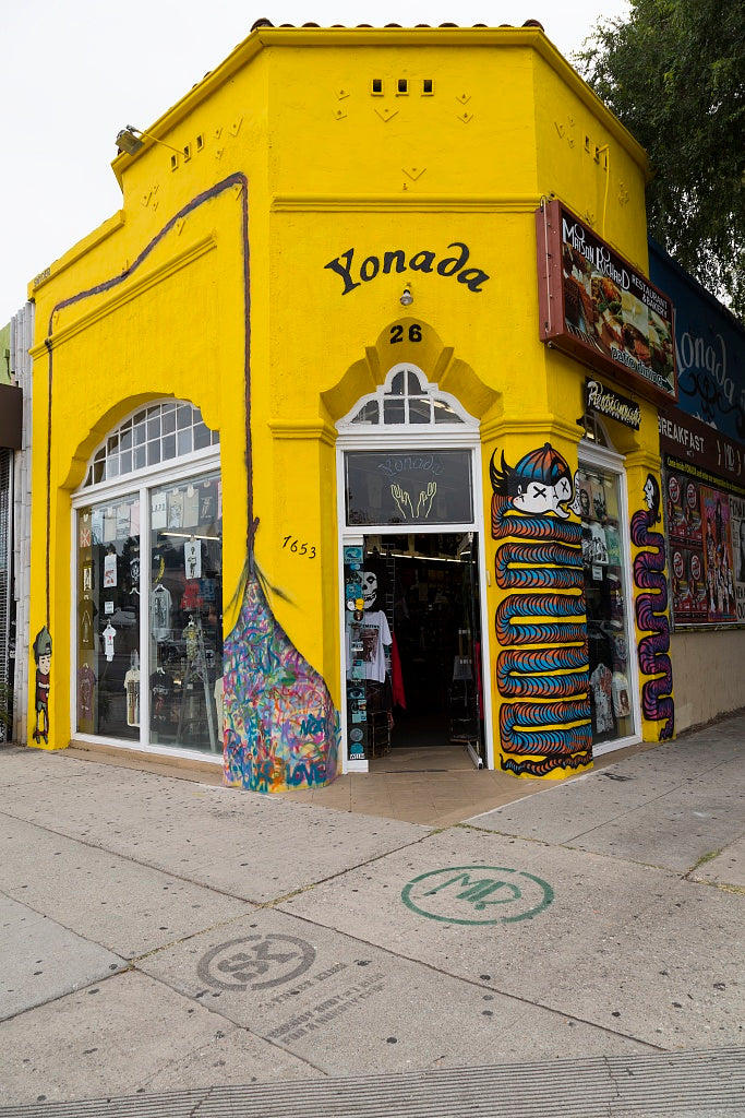 18 x 24 Photograph reprinted on fine art canvas  of Retail establishment Yonanda in Los Angeles California r44 2012 by Highsmith, Carol M.