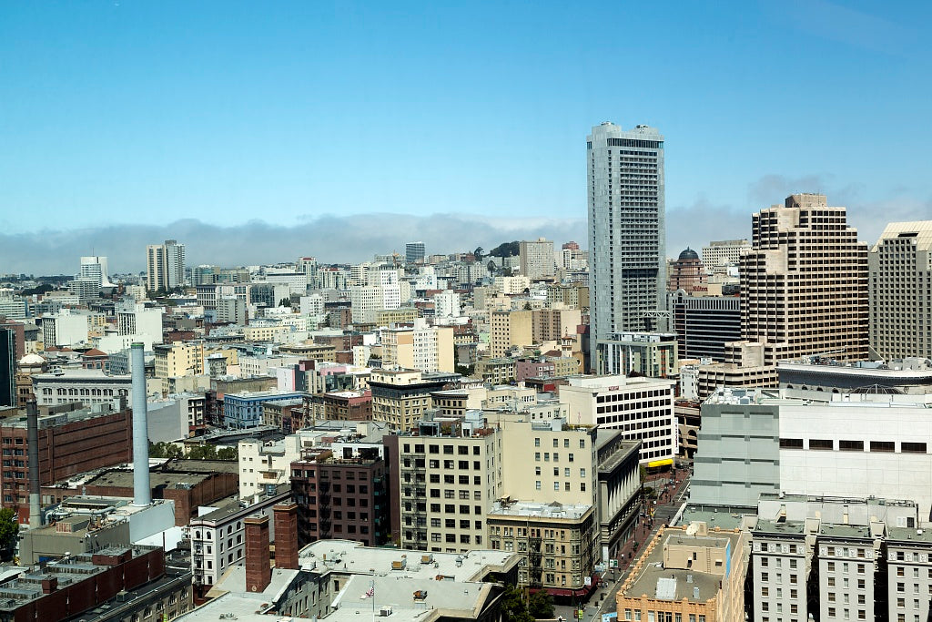 18 x 24 Photograph reprinted on fine art canvas  of Skyline view of San Francisco California r29 2012 by Highsmith, Carol M.