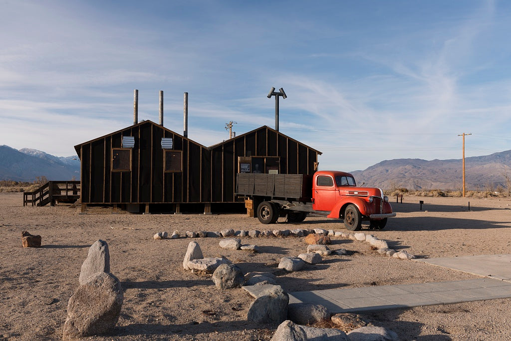 18 x 24 Photograph reprinted on fine art canvas  of Manzanar War Relocation Center California r63 2012 by Highsmith, Carol M.