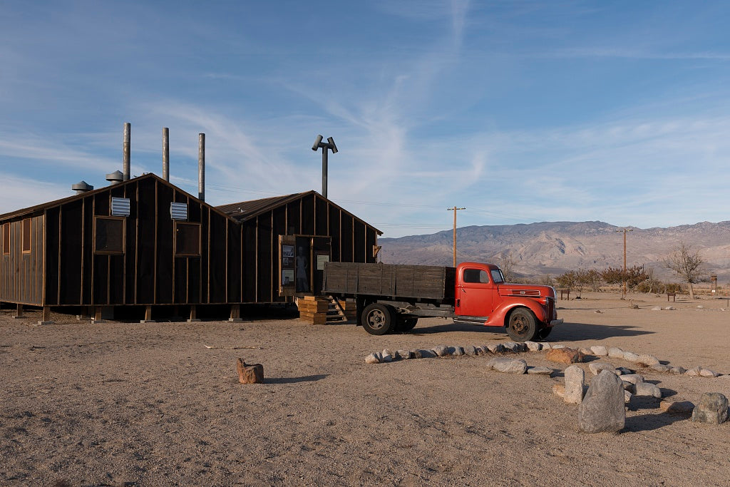 18 x 24 Photograph reprinted on fine art canvas  of Manzanar War Relocation Center California r64 2012 by Highsmith, Carol M.