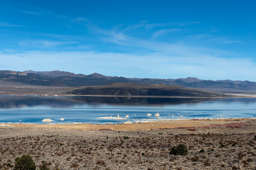 18 x 24 Photograph reprinted on fine art canvas  of Mono Lake a large shallow saline soda lake in Mono County California r69 2012 by Highsmith, Carol M.