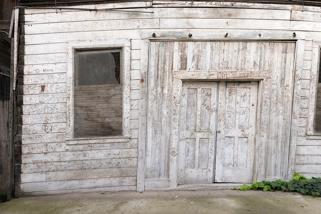 18 x 24 Photograph reprinted on fine art canvas  of Old building in Locke an unincorporated community in the Sacramento/San Joaqin River Delta in California r89 2012 by Highsmith, Carol M.