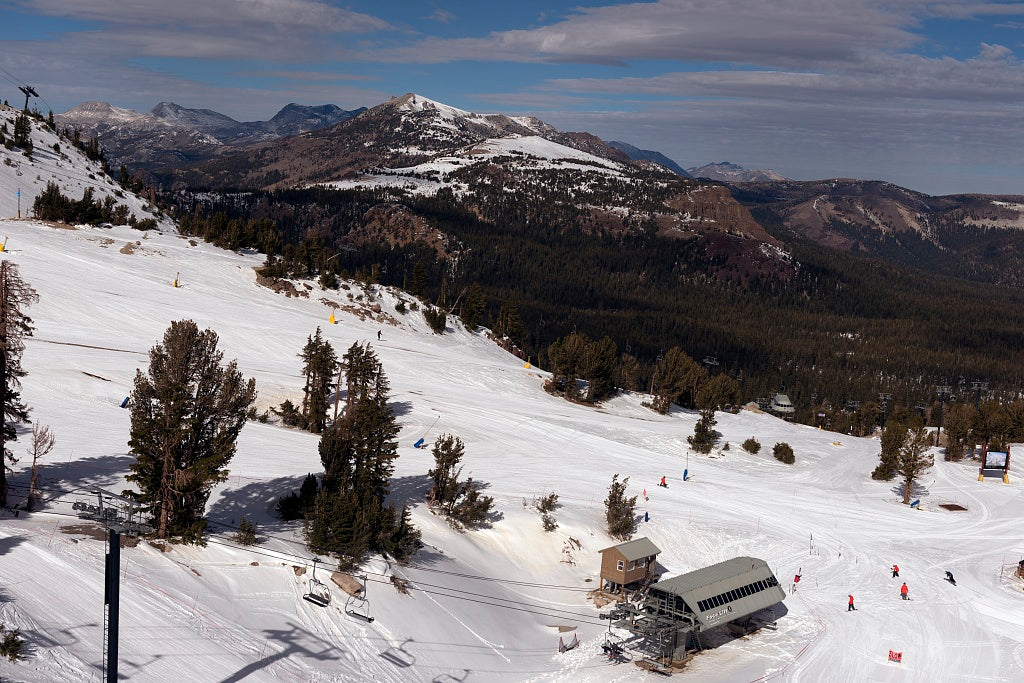 18 x 24 Photograph reprinted on fine art canvas  of Ski slope Mammoth Lakes California r58 2012 by Highsmith, Carol M.