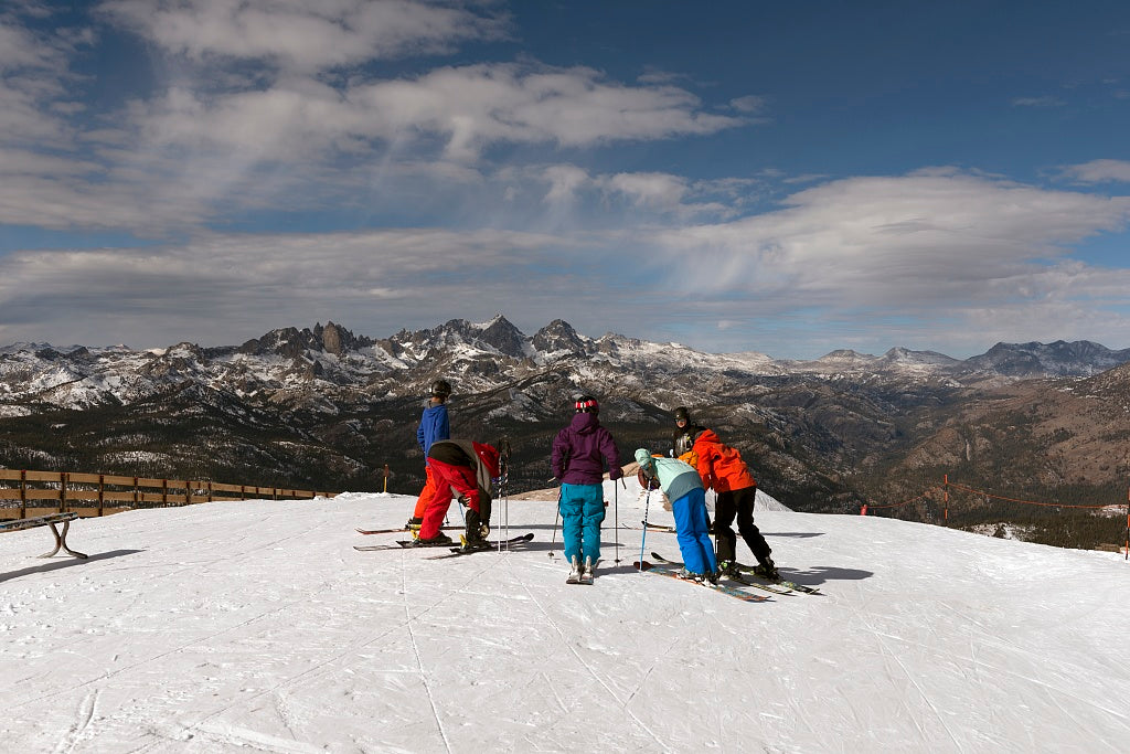 18 x 24 Photograph reprinted on fine art canvas  of Ski slope Mammoth Lakes California r69 2012 by Highsmith, Carol M.
