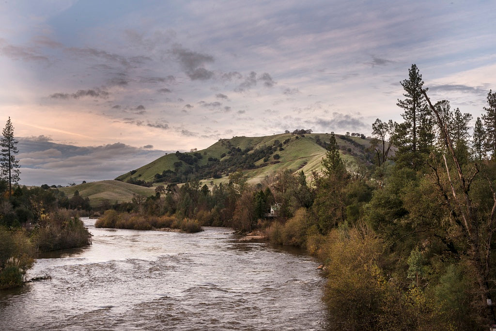 18 x 24 Photograph reprinted on fine art canvas  of A view of the south fork of the American River at Coloma in El Dorado County California r78 2012 by Highsmith, Carol M.