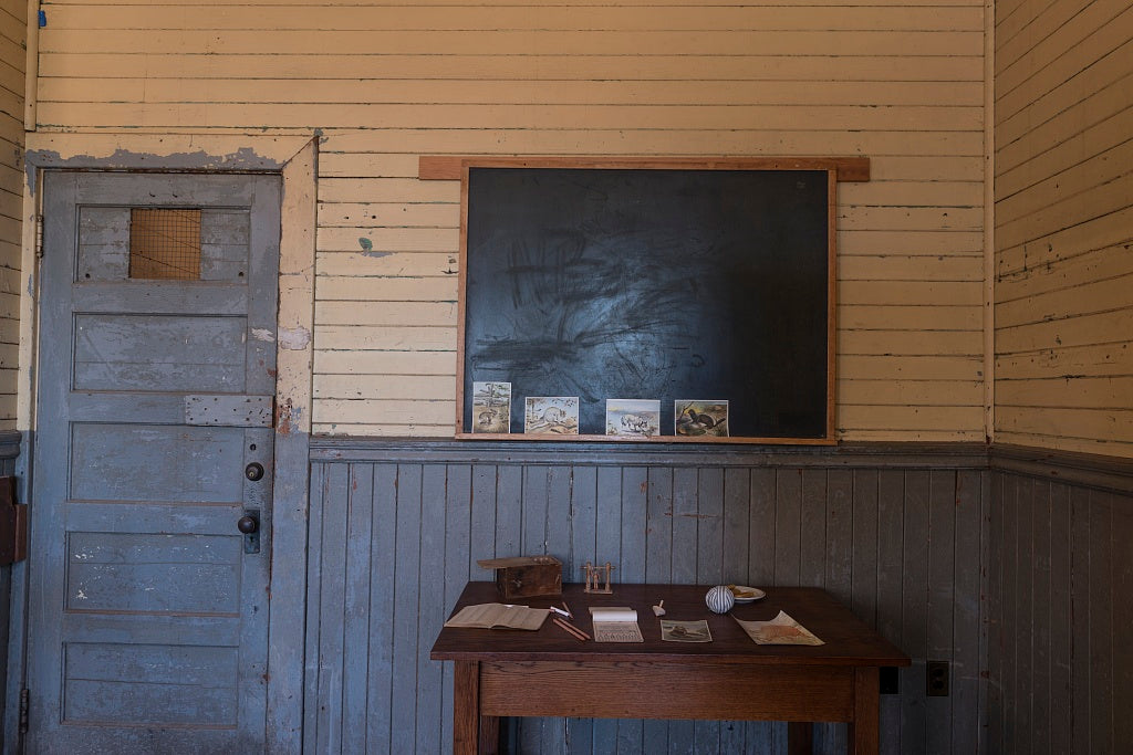 18 x 24 Photograph reprinted on fine art canvas  of Angel Island Immigration Station on Angel Island in San Francisco Bay California r38 2013 May by Highsmith, Carol M.,