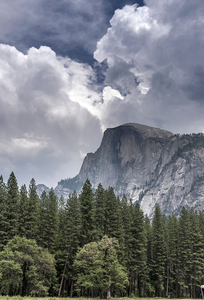 18 x 24 Photograph reprinted on fine art canvas  of Half Dome formation at Yosemite National Park spans eastern portions of Tuolumne Mariposa and Madera counties in California r63 2013 June by Highsmith, Carol M.,