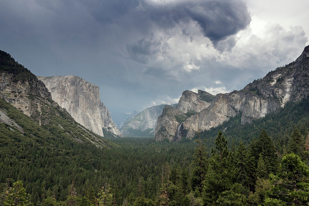 18 x 24 Photograph reprinted on fine art canvas  of Yosemite National Park spans eastern portions of Tuolumne Mariposa and Madera counties in California r67 2013 June by Highsmith, Carol M.,
